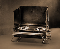 Early Coleman 2-Burner Stove